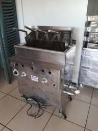 vendo fritadeira automática para salgadinho 4 cestos