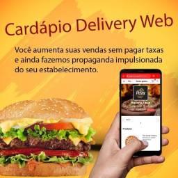 cardapio delivery web