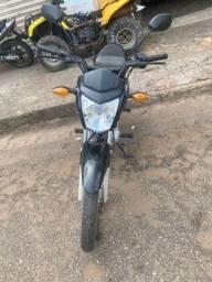 Título do anúncio: Moto CG FAN 125cc, pedal 18/18