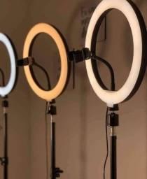 Ring Light Completo 26cm 10 Polegadas Tripé até 2mts