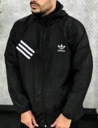 Cortavento Adidas Black