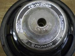 Alto-falantes antigos automotivos Pioneer mod. TS-W302F.- 023 -