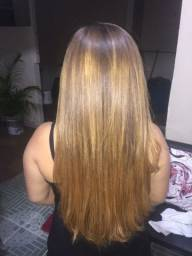Vende-se cabelo loiro