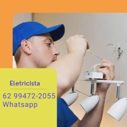 Título do anúncio: Eletricista  \/ Manutenções e Instalações em geral  \/