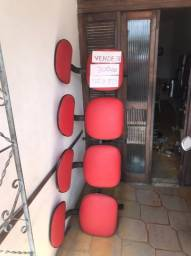 Cadeira Longarina com 4 lugares