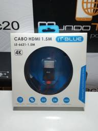 Cabo HDMI 4K  1,5M