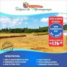 Título do anúncio: Lotes em Maranguape Com Parcelas de 179.00