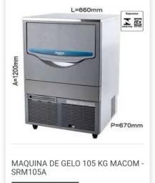 Título do anúncio: M. Maquina de gelo a pronta entrega, de tamanhos diferentes
