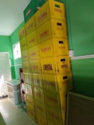Caixas de cerveja (25 de 600ml, 4 de 1l)