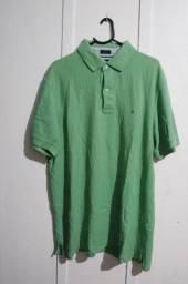 Camisa Polo Tommy Hilfiger Original Tamanho L/G Verde
