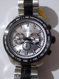 Invicta Speedway Silver Dial Two Tones