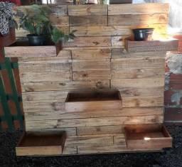 Matérias em madeira, estilo rústico