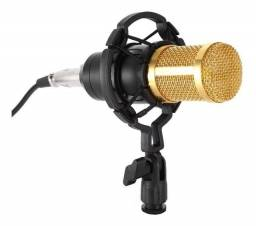Título do anúncio: Microfone BM800 Condensador novo
