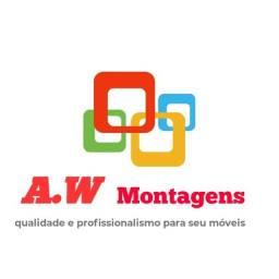 A.W montagens