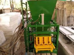Máquina completa para fabricação de blocos de concreto