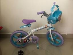 Vendo bicicleta infantil da Frozen
