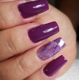 Alongamento..unhas de gel  R$60,00