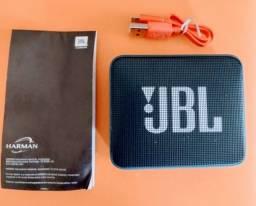 Título do anúncio: Caixa de som JBL Go 2 Bluetooth azul escuro
