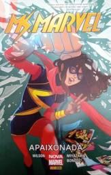 03 Livros: MS. Marvel: apaixonada, questões mil, últimos dias.