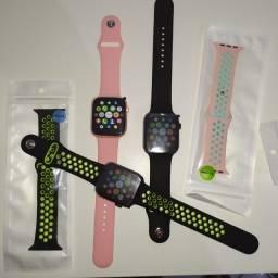 Smartwatch série 5 ?? com 2 pulseira