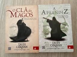 Livros O clã dos Magos e A aprendiz