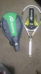 Peso para musculação e raquete tenis