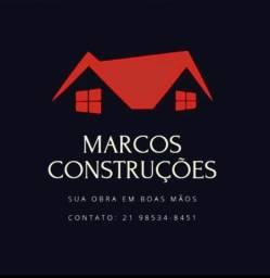 Marcos Construções - Sua obra em boas mãos