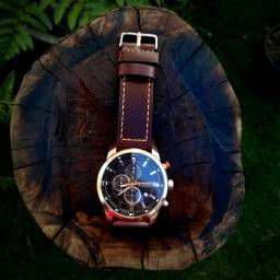 Relógio De Quartzo Com Mostrador Redondo Curren 8291
