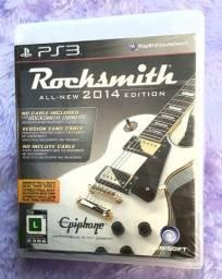 Jogo Rocksmith 2014 PS3 [-NOVO-, Lacrado]