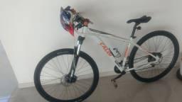 Título do anúncio: Bicicleta Caloi quadro 17 ato 29 27 marchas