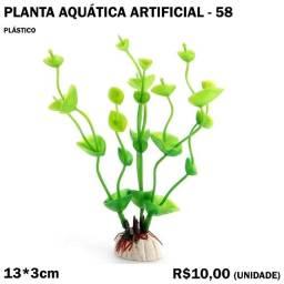 Planta Artificial para Aquário