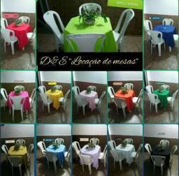 Aluguel eventos ( R$ 5.00 ) mesas e cadeiras 99212 / 6216