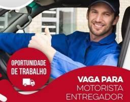 Título do anúncio: Motorista/Entregador