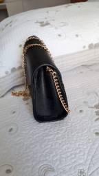 Bolsa com alça de corrente