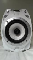 Caixa de som Bluetooth, pendrive, cartão de memória, auxiliar e RCA 100w RMS