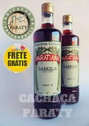 Cachaça Gabriela Paratiana 700ml Paraty