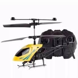 Mini Helicóptero 3.5-channel Voar Dentro De Casa C/ Controle