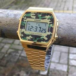 dd95e13807e Relógio casio camuflado