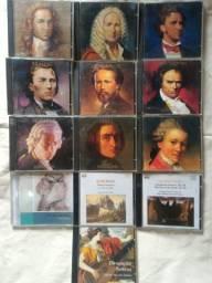 Coleção de CDs Grandes Compositores Da Música Clássica