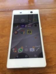 Celular smartphone sony xperia M5 E5653 branco