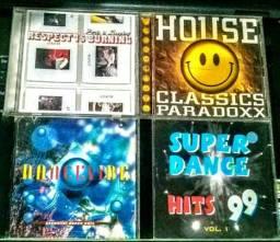 CD House Classics Paradoxx, Dance Vibe, Super Dance 99, Paris is Sleeping