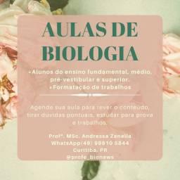 Biologia; auxílio pedagógico; formatação de trabalhos