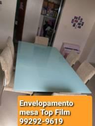 Adesivos decorativos insulfilm residencial blackout envelopamento