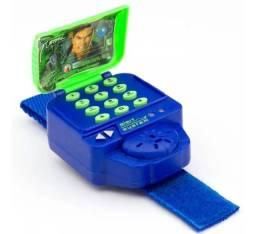 Celular Espiao De Pulso Max Steel Mtsl3 Infantil Brinquedo