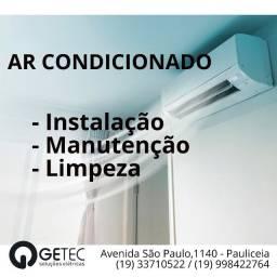 Venda, instalação e manutenção de ar condicionado