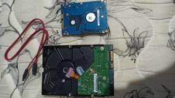 HD notebook e PC (valor real na descrição)
