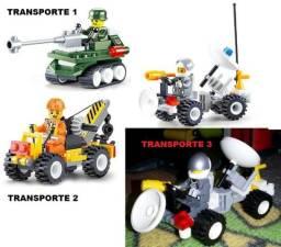Lego Transportes + motorista - R$20 - 100% novo/Lacrado!