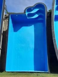 CM-Piscina de fibra de vidro 4,8 x 2,7 x 1,2m - Preço baixo fábrica Alpino 30 anos