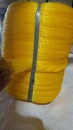 Tela de proteção, saca para frutas e redinha para frutas