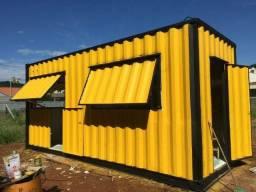Lanchonete Container 15m² valor promocional até 15/10